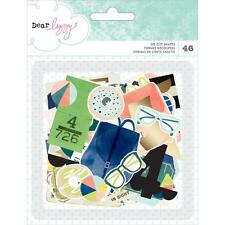 Saturday Diecuts Dear Lizzy American Crafts Ephemera Die Cut Cardstock 376273