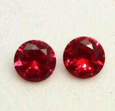 2.07 Ct GGL Certified Natural Brilliant Round Cut Red Ruby Gems Lot RIng Size