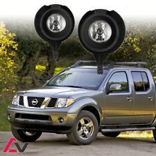 05-16 For Nissan Frontier Clear Lens Pair OE Fog Light Lamp+Wiring+Switch Kit
