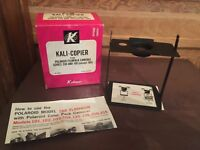 Vintage Kali-Copier For Polaroid Film Pack Cameras Series 200 and 100 With Box