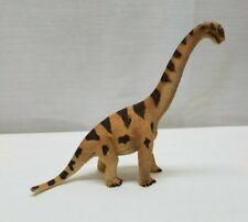 "Papo Schleich Action Figure Toy Brachiosaurus Dinosaur Prehistoric Brown Tan 6"""