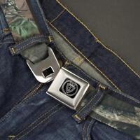 Buckle Down Seatbelt Belt - Mossy Oak Infinity Camo - Waist 24 - 38 Made in USA