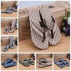 1Pair Men's New Summer Sandals Slipper Beach Flip-flops Camouflage Massage Shoes