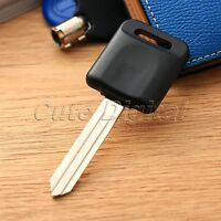 Uncut Blade Ignition Blank 46 Chip Remote Key with Transponder Chip for Nissan
