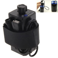 8.4V 4pcs 18650 Waterproof Battery Pack Case House Cover for Bicycle Lamp 5V 2A