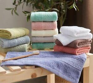 iDrop Set of 6pcs towels 100% cotton Luxury Bath Towel Set Cotton Towels