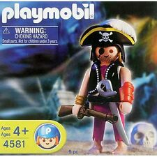 Playmobil Special 4581 Caribbean Pirate Captain  New RETIRED Damaged  BOX