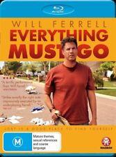 *New & Sealed* Everything Must Go (Blu-ray, 2011) Will Ferrell, Region B AUS