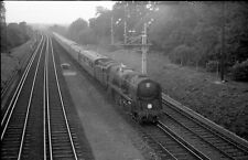 Original B/W 35mm BR Railway Negative Steam Train Loco Unknown Location T87