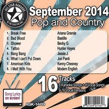 All Star Karaoke CDG September 2014 ASK 1409 Bang Bang Break Free, American Kids