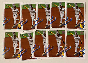 (10) 2021 Topps Series 1 FERNANDO TATIS JR. Base Card Lot (x10) Padres #1