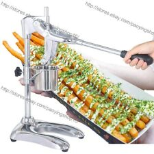 Manual 30cm Long Potato Chips French Fries Squeezer Press Maker with Basket