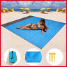 Waterproof Pocket Beach Blanket Portable Compact For Beach Picnic Camping Hiking