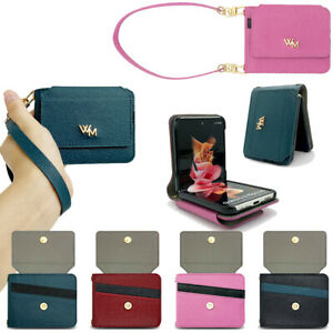 Dana Leather Wallet Case for Samsung Galaxy Z Flip / Z Flip 5G / Z Flip3