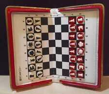 SIMZA Rare Vintage Russian USSR Soviet Road Pocket Magnetic Chess