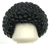 LEGO NEW BLACK AFRO MINIFIGURE BUBBLE HAIR ROUND WIG BOY GIRL PIECE