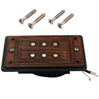 Three Strings / 3 Pole Cigar Box Guitar Pickup, Humbucker Dual Coil Pickup