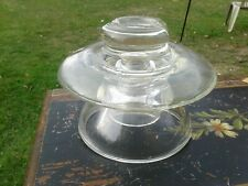 New ListingCorning Pyrex Large 9� Clear Glass Insulator 401