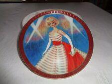 Danbury Mint High Fashion Barbie The 1965 Barbie Holiday Dress Plate