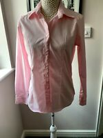 Women's SAVILE ROW Pink Shirt. Size 10. Used VGC