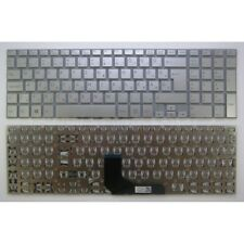 SILVER KEYBOARD for SVF15A SVF15A1M2ES SVF15A1Z2EB, HUNGARY MAGYAR layout