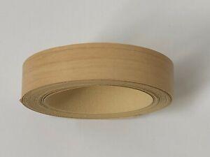 Maple Edging Tape, 5m x 22mm, Pre-Glued Iron On