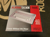 ATARI 130XE - BOX ONLY + Inlay box and nylon - rare only one on ebay