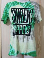 JEREMY SCOTT - 'Shrek Happens' tie-dyed cotton-jersey t-shirt size Small NEW