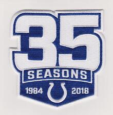 Indianapolis Colts 35th Anniversary Jersey patch