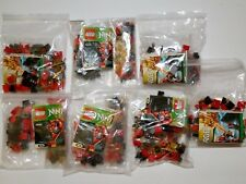 7 X LEGO NINJAGO 70500 FIRE MECHS NO MINI-FIGURES NO ELEMENTAL BLADE FREE SHIP