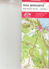 Newcastle (NSW)  9232  1:100,000  topographic map  New free worldwide airmail