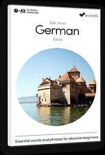 Eurotalk Talk Now Suisse Allemand pour débutants - Téléchargement option et