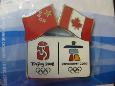 LOT of 75 PINS - Vancouver 2010 Olympics - Beijing/Vancouver Pin