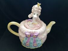 Fitz and Floyd Madame Pompidog French Poodle Teapot *Rare*