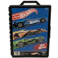 2012 Mattel Hot Wheels - 48 Car Carry Case Storage Box in Black