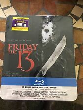 Friday the 13th The Complete Collection Blu-ray 10 Disc Set Rare New Sealed