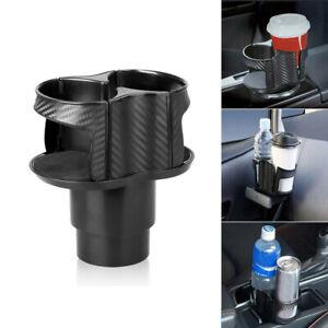 Car Seat Cup 2 Holder Drink Beverage Coffee Auto Truck Bottle Mount Accessories