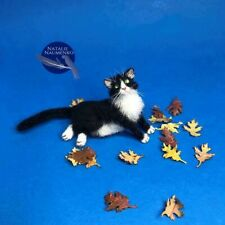 Cat Dollhouse OOAK Realistic Miniature Handsculpted 1:12 ~IGMA ARTISAN~ animal