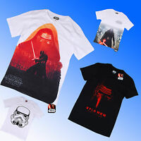 Official Genuine Star Wars 7:The Force Awakens VII Kylo Ren Tee T Shirt S M L XL