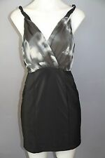 Cooper St Vapour dress size 10 womens black and grey exc condition
