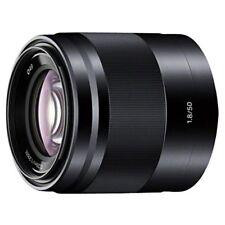 SONY SEL50F18-B single focus lens E 50mm F1.8 OSS APS-C format from JAPAN