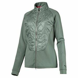 Puma Golf Women's Dassler PWR Warm Jacket Laurel Wreath Green Size Large