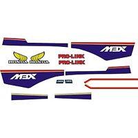 Kit Pegatinas MBX Rothmans , decals Honda MBX 75 80, stickers , Adhesivos mbx