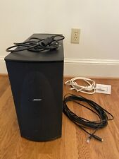 Bose PS38 Powered Subwoofer Lifestyle 18/28/38/48 Plus Cables