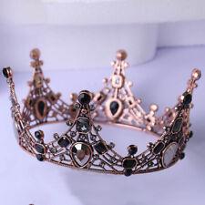 Europe Vintage Style Crystal Crown Bride Headdress Wedding Dress Birthday Crown