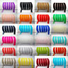 "DIY 10mm 5yards 3/8"" Soft Comfortable velvet ribbon many colours Sewing Crafts"