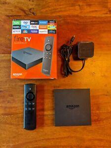 Amazon Fire TV Box (2nd Generation) 4K Media Streamer 8GB (Model: DV83YW)