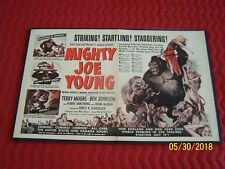 MIGHTY JOE YOUNG Original 07-11-49 LIFE Magazine Adv.-SIGNED by TERRY MOORE RARE