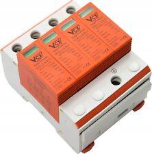 Überspannungsschutz Blitzschutz ÜS-Ableiter B+C T1+T2 4P 20-50 kA 320V AC