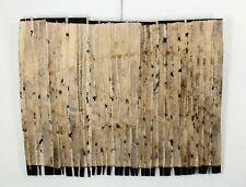modern art Paper & Wood Sculpture, Bütten Holz by Armin Göhringer, 108x83x4 cm